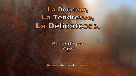 222-4 - La Douceur, la tendresse, la délicatesse - Ggo 1