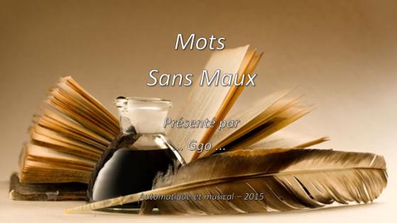 231-5 - Mots sans maux - WP - P 1
