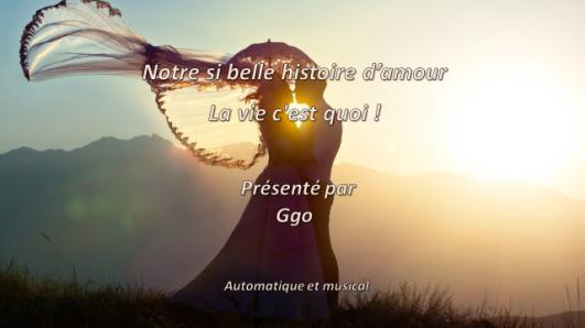 B-18- Notrte si bellle histoire d'amour, La vie c'est quoi (FILEminimizer)
