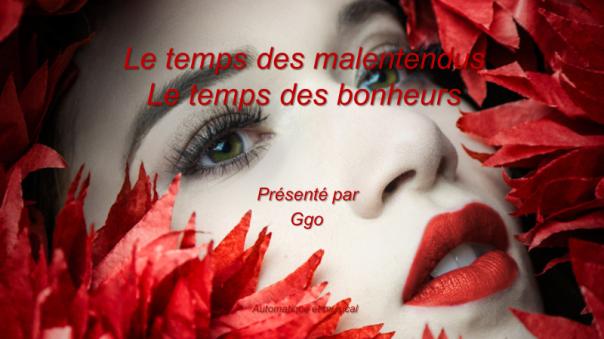 C-116 Le temps des malentendus, le temps des bonheurs - Ggo
