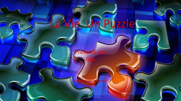 C-121 La vie, un puzzle - Ggo